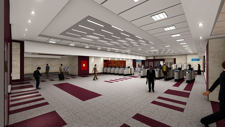 طراحی ایستگاه های میدان حافظ، بوستان شاهین و میدان صبا خط ۳ قطار شهری مشهد