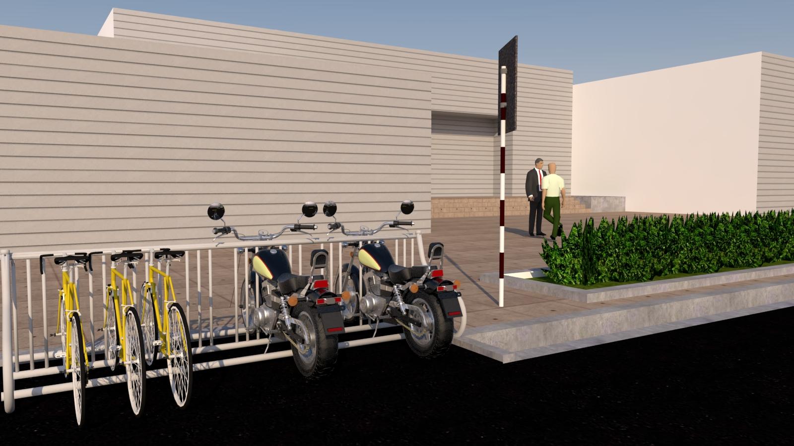 طرح ساماندهی موتورسیکلت و دوچرخه در منطقه ثامن